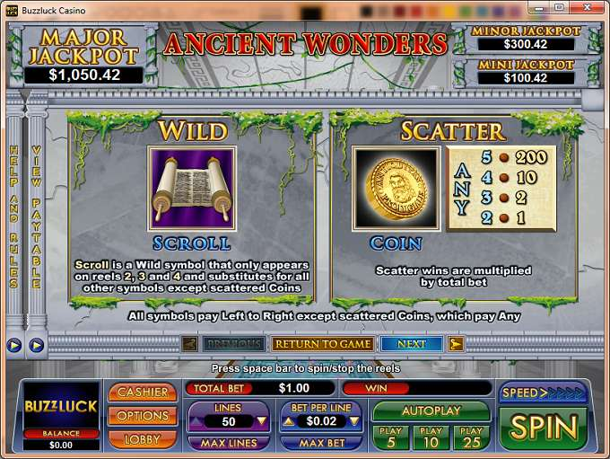 Game Review Ancient Wonders