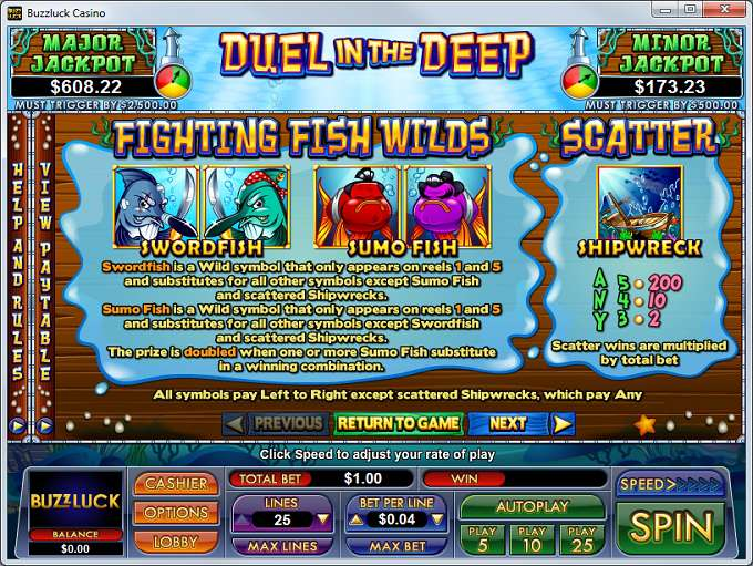 Game Review Duel in the Deep