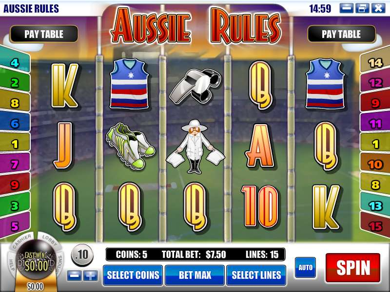 Game Review Aussie Rules