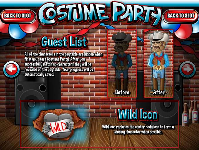 Game Review Costume Party