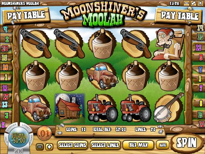 Game Review Moonshiner's Moolah