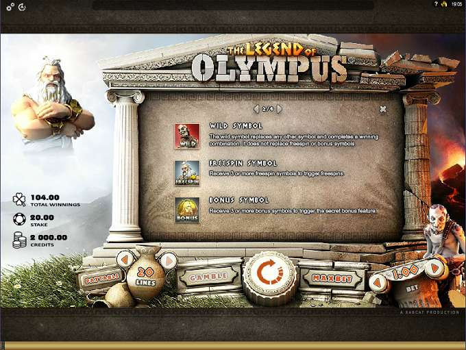 Game Review The Legend of Olympus