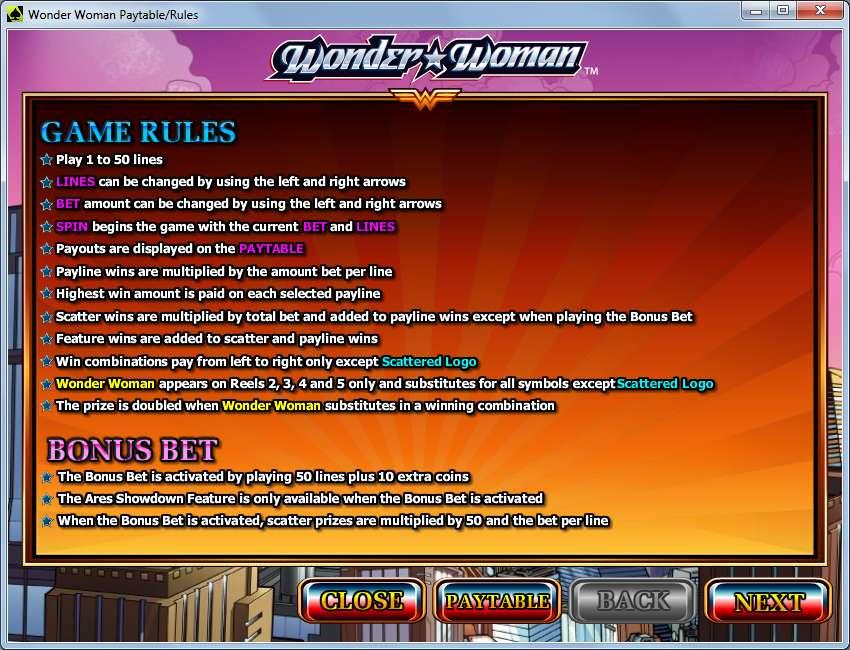 Game Review Wonder Woman
