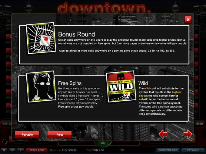 Game Review Downtown