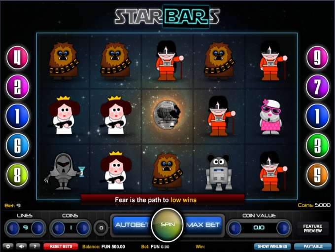 Game Review Starbars