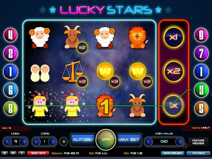 Game Review Lucky Stars