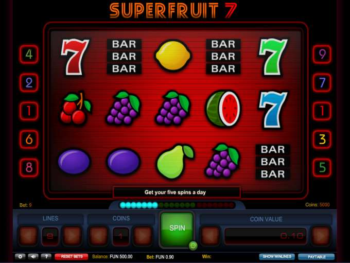 Game Review Super Fruit 7