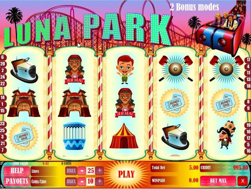Game Review Luna Park