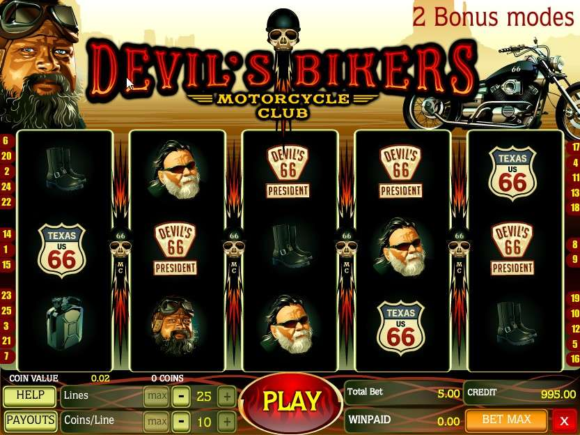 Game Review Devil's Bikers