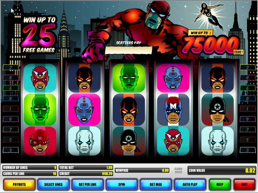 Game Review Super Heroes
