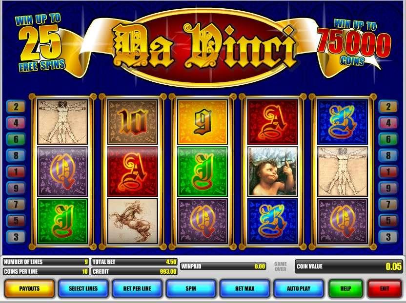 Game Review Da Vinci