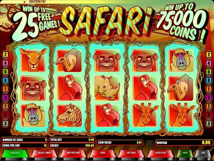 Game Review Safari