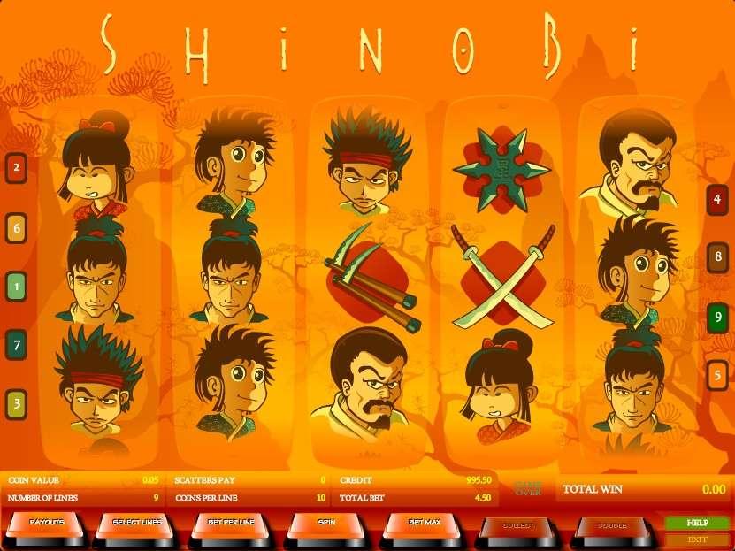Game Review Shinobi