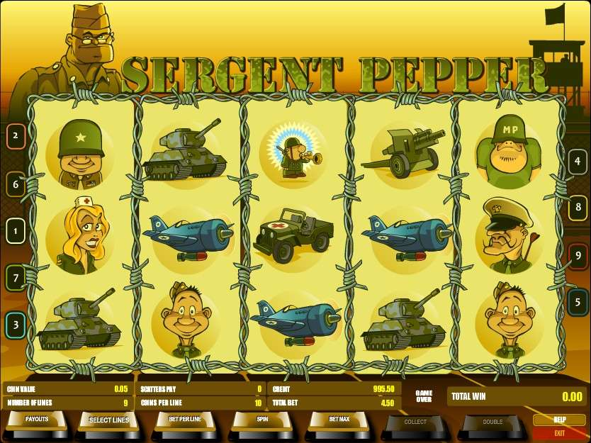 Game Review Sergent Pepper