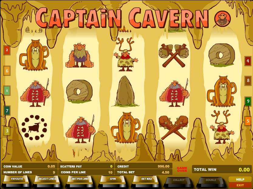 Game Review Captain Cavern