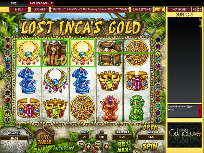 Game Review Lost Inca's Gold