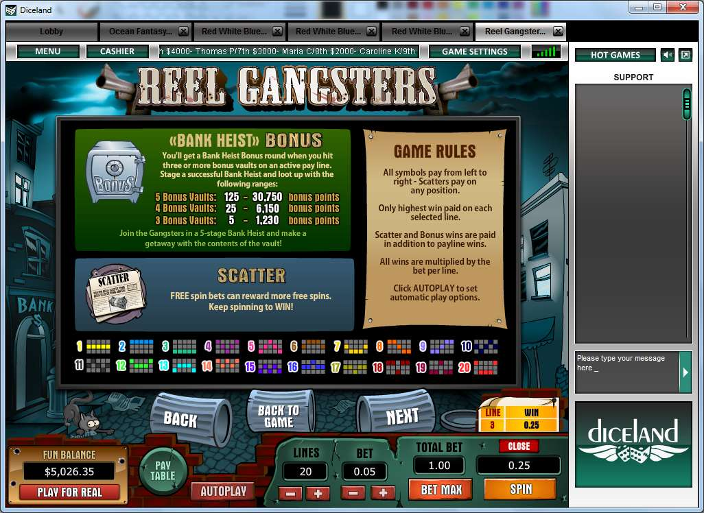 Game Review Reel Gangsters