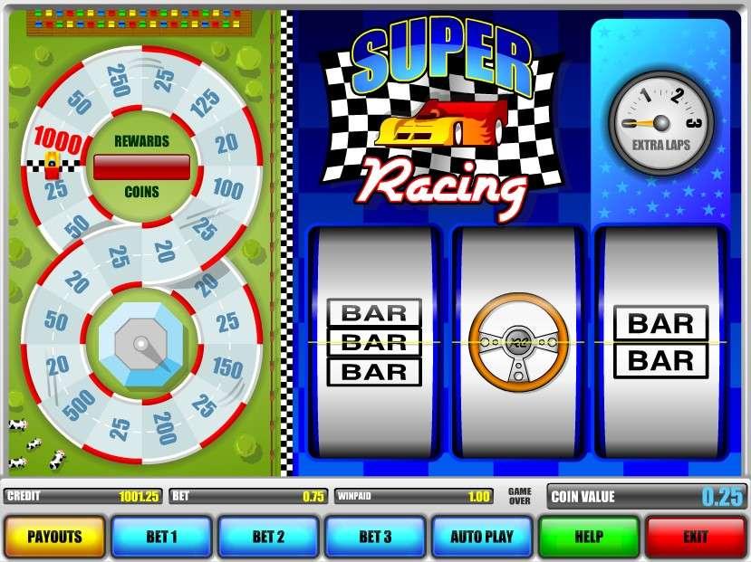 Game Review Super Racing