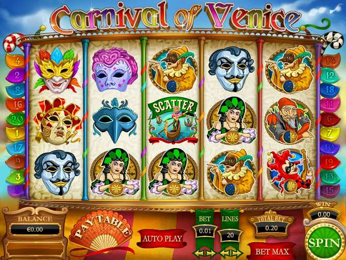 Game Review Carnival of Venice