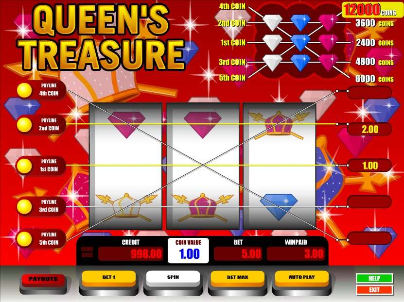 Game Review Queen's Treasure