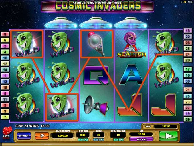 Game Review Cosmic Invaders