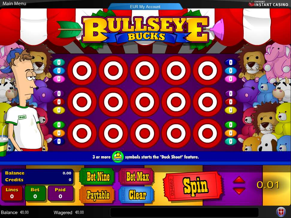 Game Review Bullseye Bucks