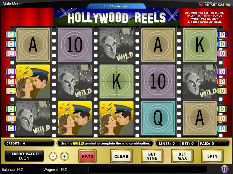 Game Review Hollywood Reels