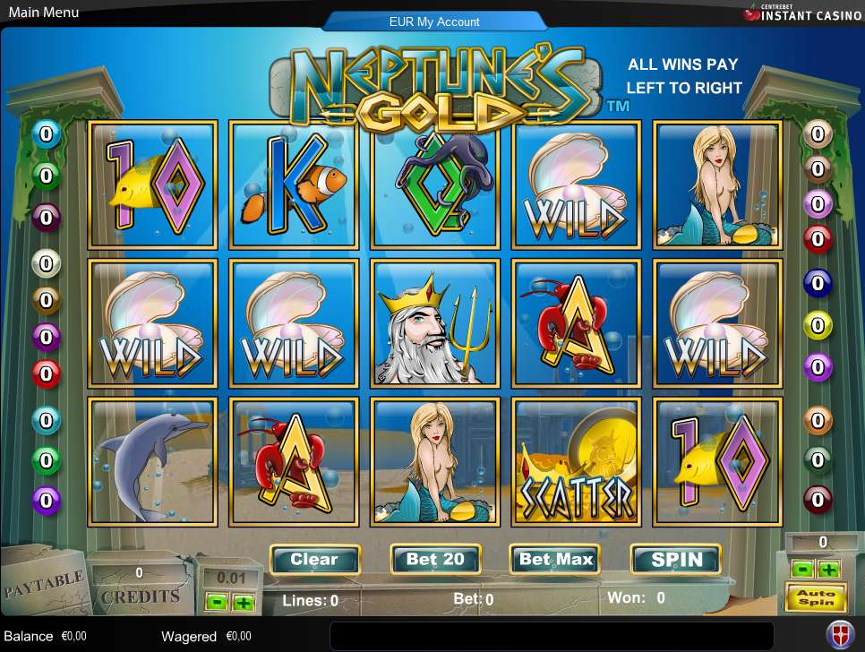 Game Review Neptune's Gold