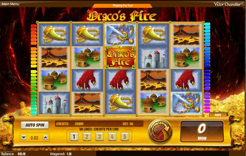 Game Review Draco's Fire