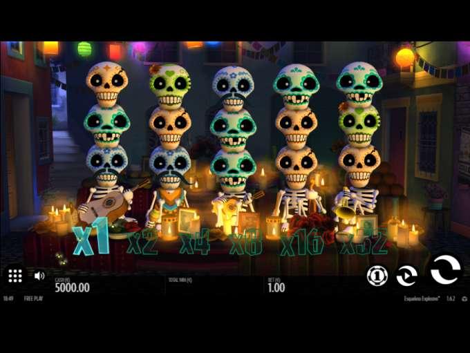 Game Review Esqueleto Explosivo