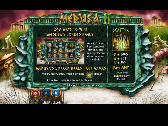 Game Review Medusa II