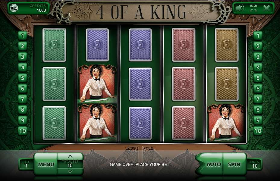 Game Review 4 of a King