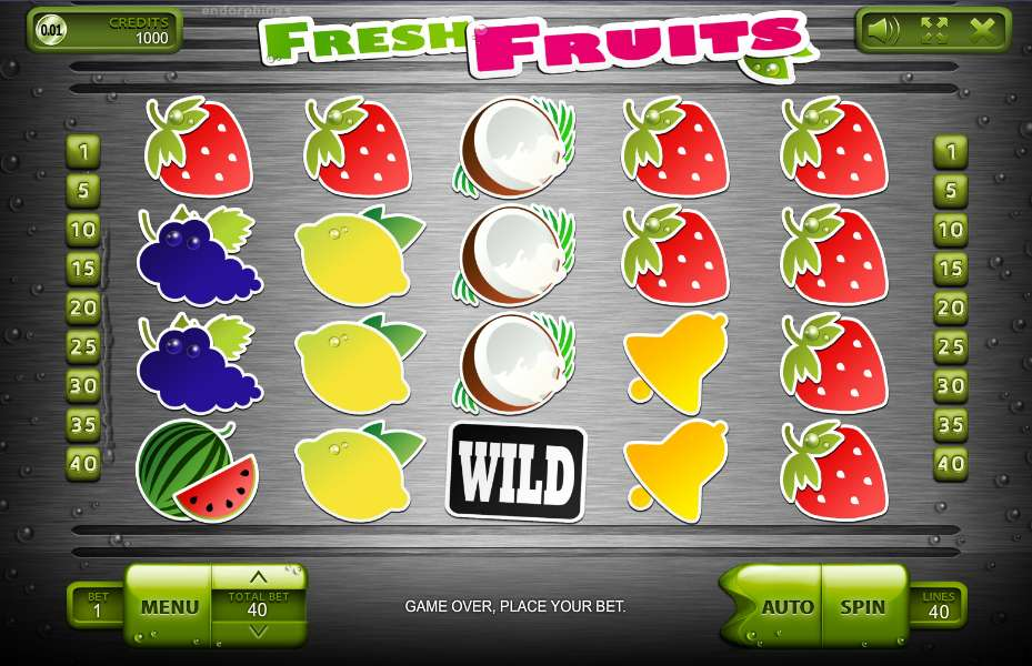Game Review Fresh Fruits