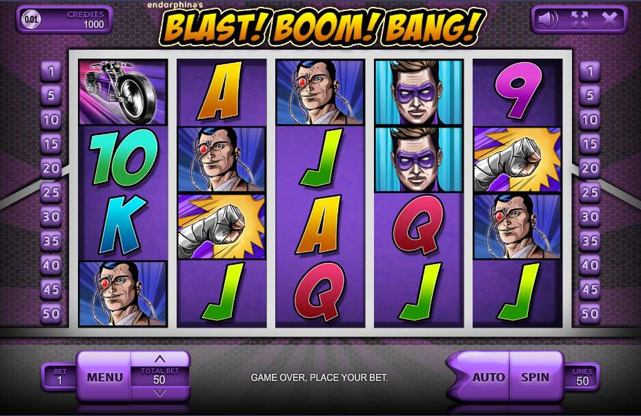 Game Review Blast! Boom! Bang!