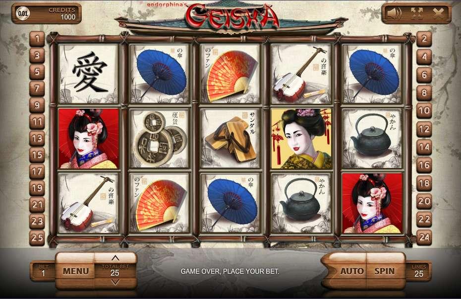 Game Review Geisha