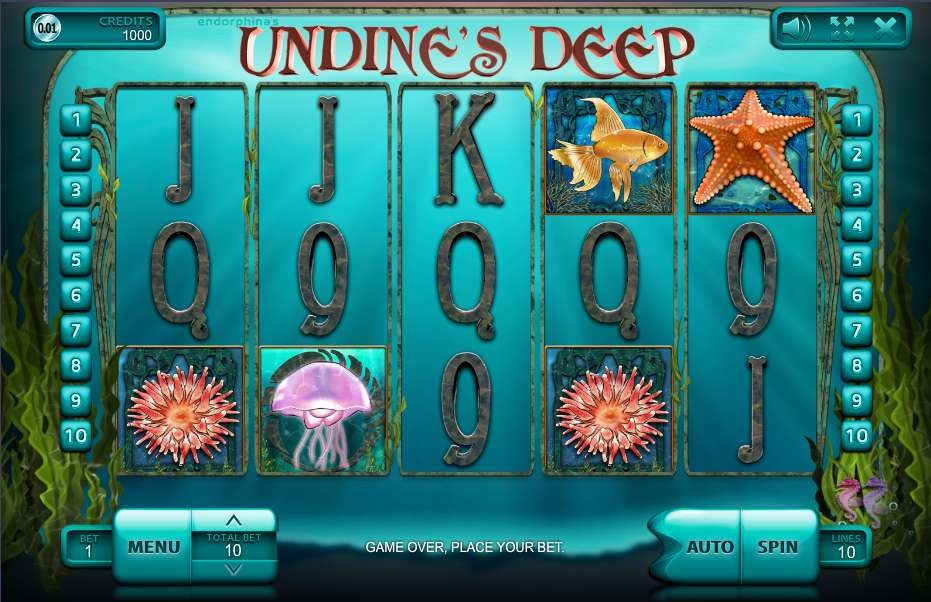 Game Review Undine's Deep