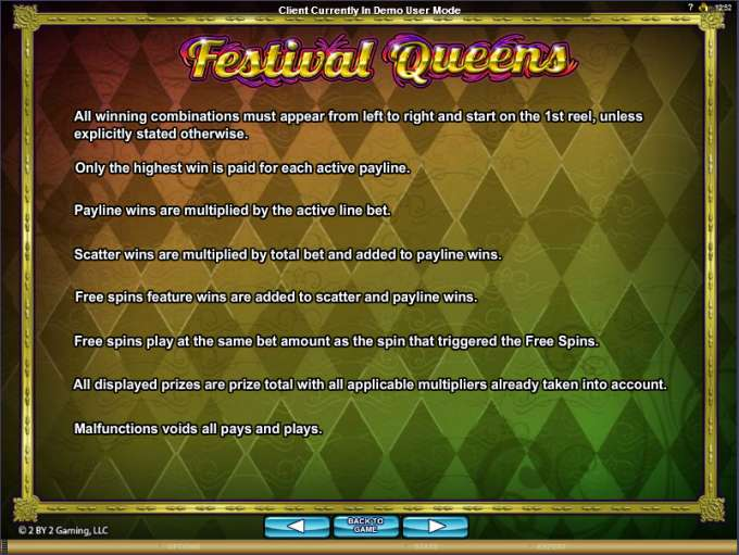 Game Review Festival Queens