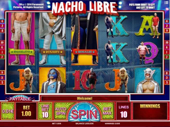 Game Review Nacho Libre