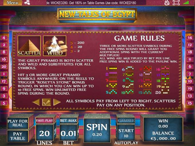 Game Review New Tales of Egypt