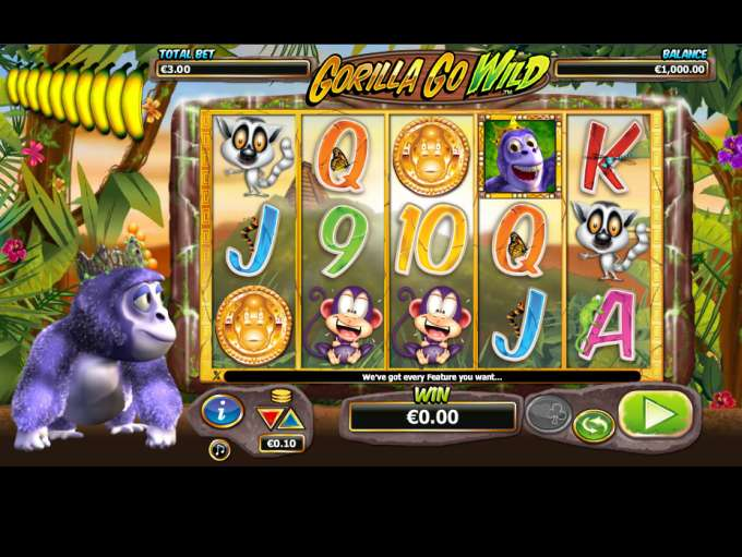 Game Review Gorilla Go Wild