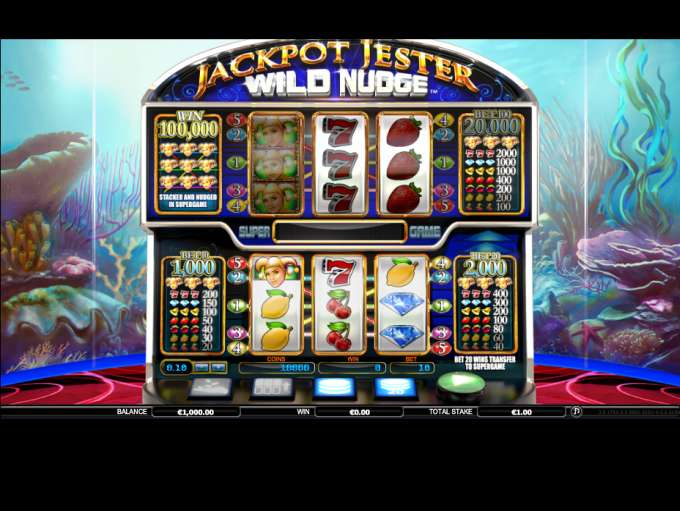 Game Review Jackpot Jester - Wild Nudge