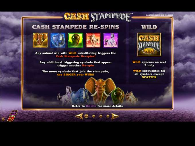 Game Review Cash Stampede