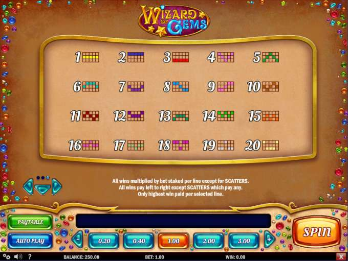 Game Review Wizard of Gems