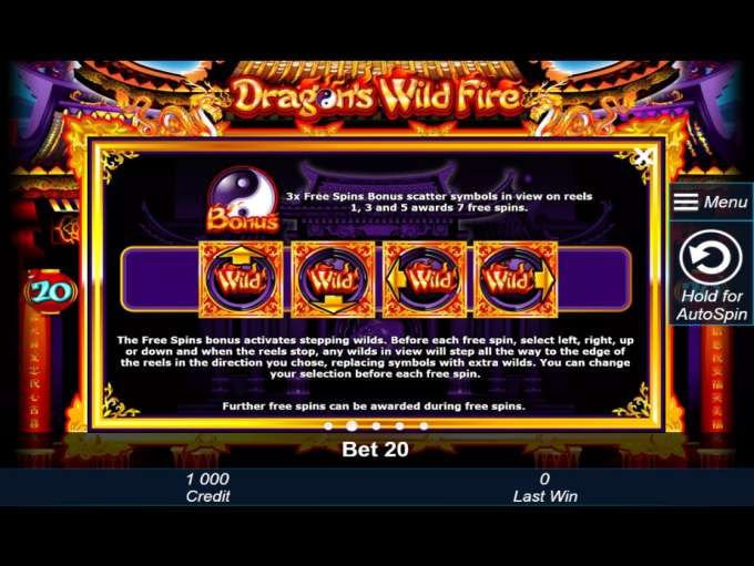 Game Review Dragon's Wild Fire