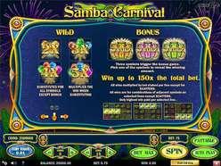 Game Review Samba Carnival