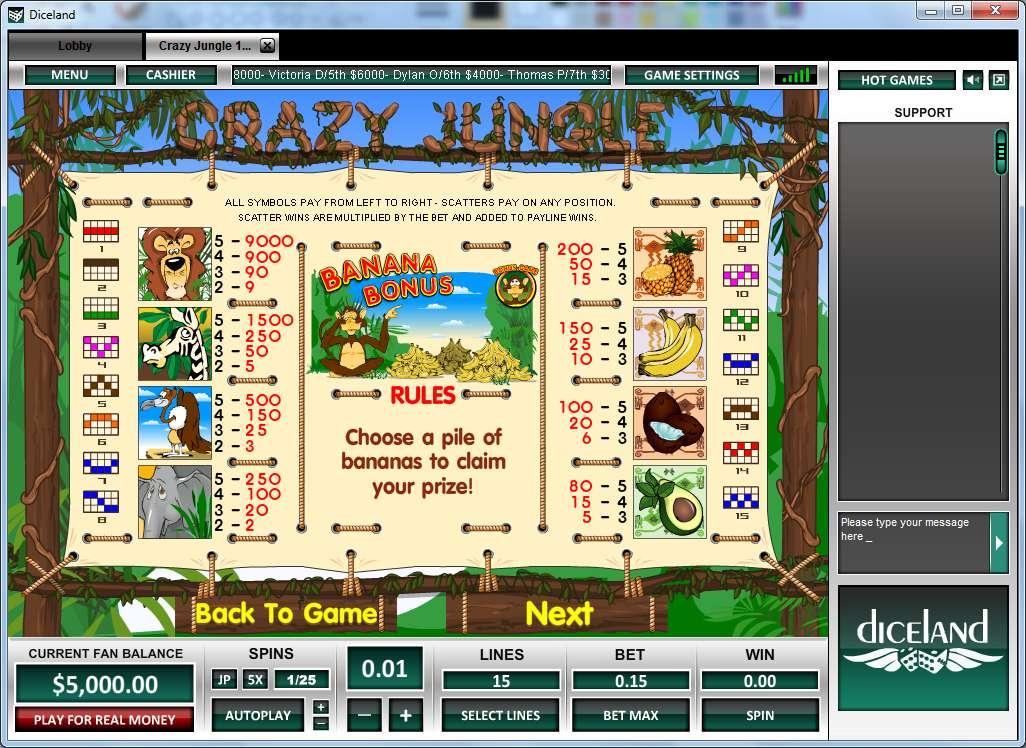 Game Review Crazy Jungle