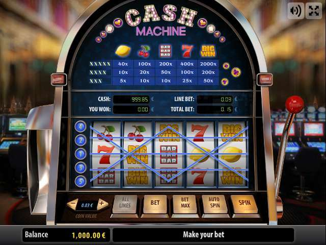 Game Review Cash Machine