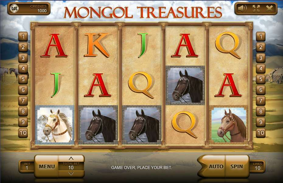 Game Review Mongol Treasures