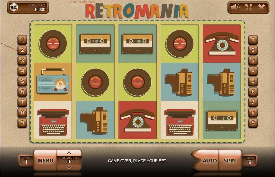 Game Review Retromania