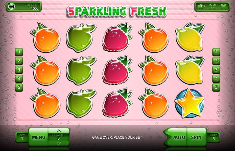 Game Review Sparkling Fresh